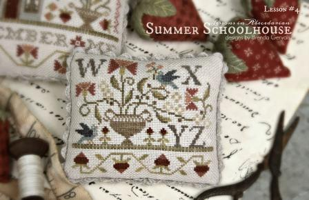 With Thy Needle & Thread - Summer Schoolhouse Lessons in Abecedarian Part 4-With Thy Needle  Thread - Summer Schoolhouse Lessons in Abecedarian Part 4
