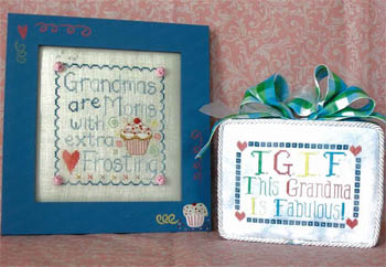 Waxing Moon Designs - Just For Grandmas - Cross Stitch Patterns-Waxing Moon Designs - Just For Grandmas - Cross Stitch Patterns