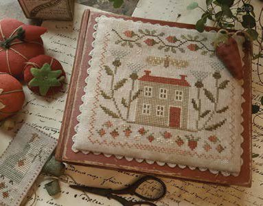 With Thy Needle & Thread - Berry Days at Thistle Down Farm-With Thy Needle  Thread - Berry Days at Thistle Down Farm, home, farm, flowers, cross stitch, country,