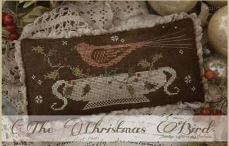 With Thy Needle & Thread - The Christmas Bird-With Thy Needle  Thread - The Christmas Bird, Christmas, ornament, cross stitch,