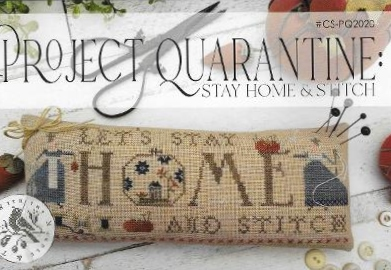 With Thy Needle & Thread - Project Quarantine Stay Home & Stitch