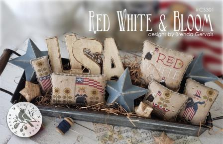 With Thy Needle & Thread - Red, White & Bloom