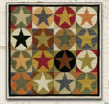 Teresa Kogut - Star Quilt-Teresa Kogut - Star Quilt, quilting, cross stitch, fall,