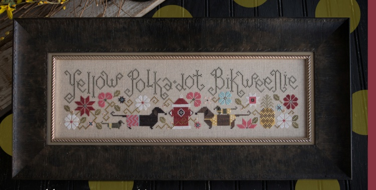Plum Street Samplers - Yellow Polka Dot Bikweenie