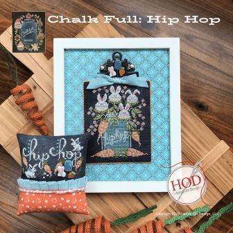 Hands On Design - Chalk Full - Hip Hop-Hands On Design - Chalk Full - Hip Hop, Easter, bunnies, rabbit, chalk, carrots, Mason jars, cross stitch