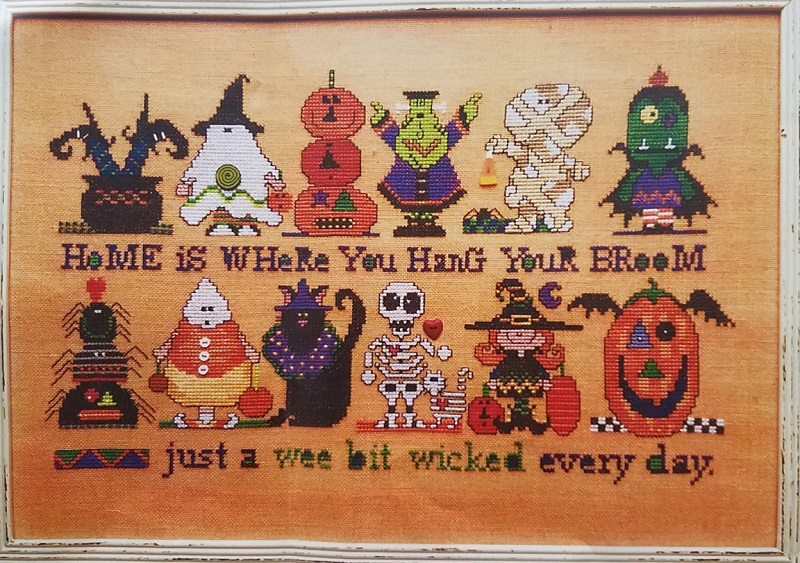 Amy Bruecken Designs - Lucky 13 Part 1-Amy Bruecken Designs - Lucky 13 Part 1, Halloween, costumes, fall,stitch a long, cross stitch