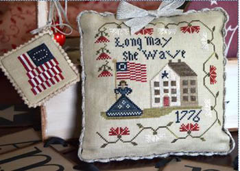 Abby Rose Designs - Long May She Wave 1