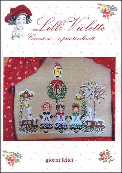 Lilli Violette - Giorni Felici-Lilli Violette - Giorni Felici, Christmas, carolers, Christmas songs, winter, singing,