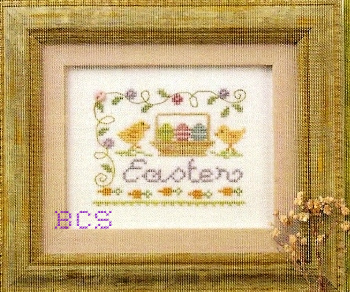 Lizzie Kate - A Little Easter Kit-Lizzie Kate - A Little Easter- Cross Stitch Kit