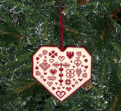 Historic Stitches - All Hearts Come Home for Christmas