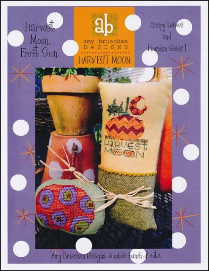 Amy Bruecken Designs - Harvest Moon-Amy Bruecken Designs - Harvest Moon, fall, Thanksgiving, pumpkin,