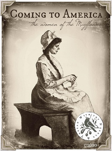 With Thy Needle & Thread - Coming to America - The Women of the Mayflower Thread Pack-With Thy Needle  Thread - Coming to America - The Women of the Mayflower Thread Pack