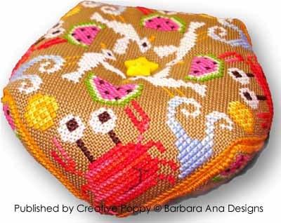 Barbara Ana Designs - Summer Biscornu
