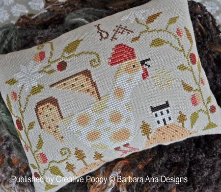 Barbara Ana Designs - Cock-a-doodle-doo
