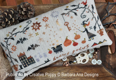 Barbara Ana Designs - Hocus Pocus-Barbara Ana Designs - Hocus Pocus, Halloween, witch, cauldron, bats, pumpkins, stars,