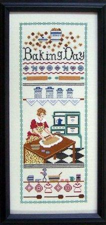 The Needle's Notion - Baking Day - Cross Stitch Chart