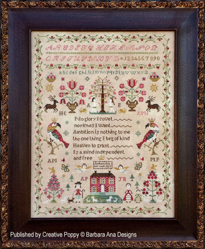 Barbara Ana Designs - The Snooty Parrots Sampler
