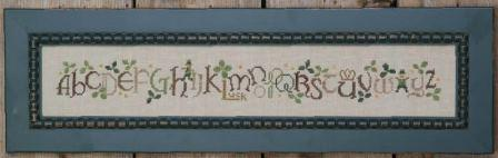 Bent Creek - Shamrock Row-Bent Creek - Shamrock Row, St Patricks Day, March, sampler, Irish, Leprechaun, cross stitch