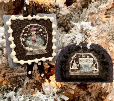 Bent Creek - Flurries - Wintery Wonderfuls-Bent Creek - Flurries - Wintery Wonderfuls, snow, winter, cross stitch, house,