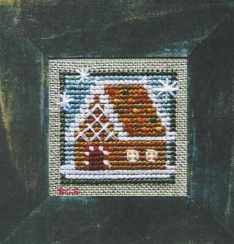 Bent Creek - Little House of Ginger-Bent Creek - Little House of Ginger, Gingerbread house, Christmas, snow, gingerbread man, cross stitch,