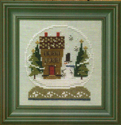 Bent Creek - Home in the Globe - Cross Stitch Kit-Bent Creek - Home in the Globe - Cross Stitch Kit