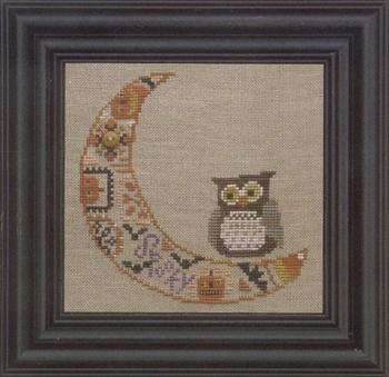 Bent Creek - Quaker Moon - Cross Stitch Pattern-Bent Creek Quaker Moon Cross Stitch Pattern