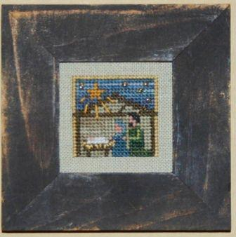Bent Creek - Tiny Nativity - Cross Stitch Pattern-Bent Creek, Tiny Nativity, Jesus, Mary  Joseph, Bethlehem, Cross Stitch Pattern