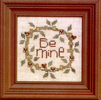 Bent Creek - Be Mine - Cross Stitch Kit-Bent Creek - Be Mine - Cross Stitch Kit
