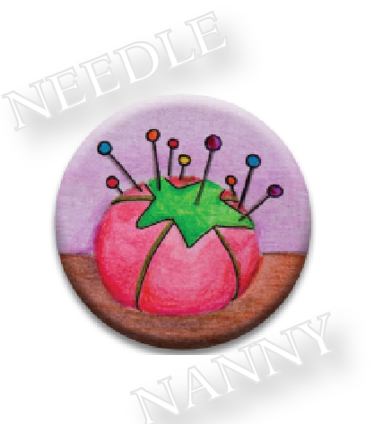 Stitch Dots - Ol' Red Needle Nanny-Stitch Dots - Ol Red Needle Nanny, pin cushion, tomato, cross stitch, pins,