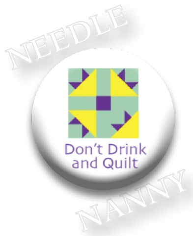 Stitch Dots - Don't Drink and Quilt Needle Nanny-Stitch Dots - Dont Drink and Quilt Needle Nanny, quilting, sewing, magnet,