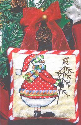 Bobbie G. Designs - Snowman's Tree - Cross Stitch Pattern-Bobbie G. Designs - Snowman's Tree - Cross Stitch Pattern