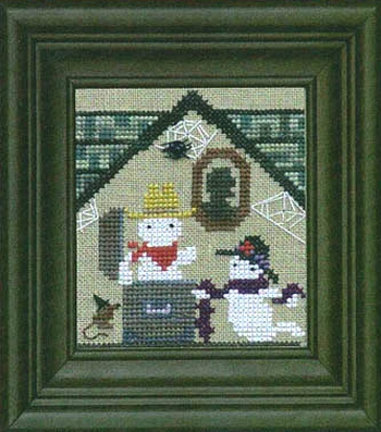 Bent Creek - The Haunted House - Part 3 of 3 - Creak & Squeak - Cross Stitch Pattern