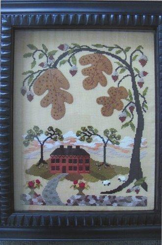 By The Bay Needleart - Oak Hill-By The Bay Needleart - Oak Hill - Cross Stitch Pattern