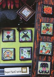 By The Bay Needleart - Stitch An Inch - Halloween-By The Bay Needleart - Stitch An Inch - Halloween- Cross Stitch Pattern