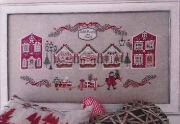 Cuore e Batticuore - Petit Marche de Noel-Cuore e Batticuore - Petit Marche de Noel, Christmas, market, shopping, cross stitch, black friday,