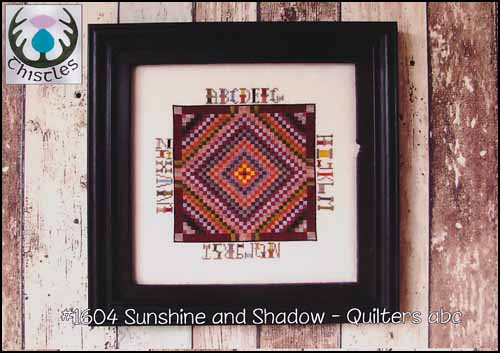 Thistles - Quilters ABC-Thistles - Quilters ABC, alphabet, quilts, cross stitch