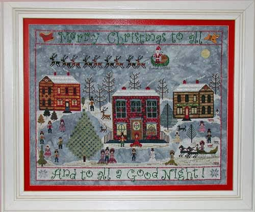 Praiseworthy Stitches - Carols on the Square-Praiseworthy Stitches, Carols on the Square, christmas, winter, caroling, Cross Stitch Pattern