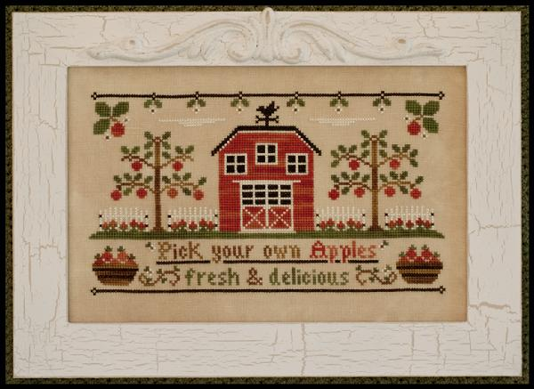 Country Cottage Needleworks - The Apple Orchard - Cross Stitch Pattern