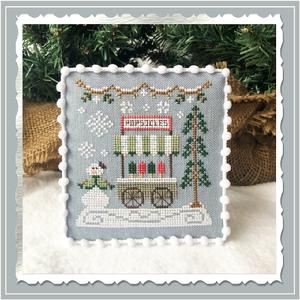 Country Cottage Needleworks - Snow Village 06 - Popsicle Cart-Country Cottage Needleworks - Snow Village 6 - Popsicle Cart