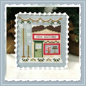 Country Cottage Needleworks - Snow Village 07 - Snow Boutique