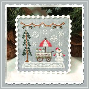 Country Cottage Needleworks - Snow Village 11 - Snow Cone Cart-Country Cottage Needleworks - Snow Village 11 - Snow Cone Cart