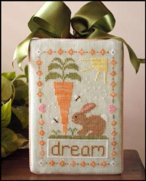 Country Cottage Needleworks - Dream Big - Cross Stitch Pattern