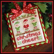 Country Cottage Needleworks - Classic Collection - 05 - Christmas Cheer-Country Cottage Needleworks, Classic Collection, Christmas Cheer, elves, Cross Stitch Pattern