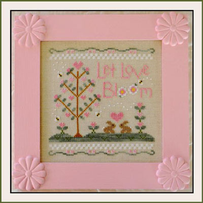 Country Cottage Needleworks - Let Love Bloom