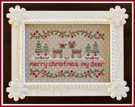 Country Cottage Needleworks - Merry Christmas, My Deer