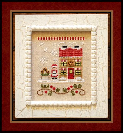 Country Cottage Needleworks - Santa's Village - Part 04 - Mrs. Claus' Cookie Shop