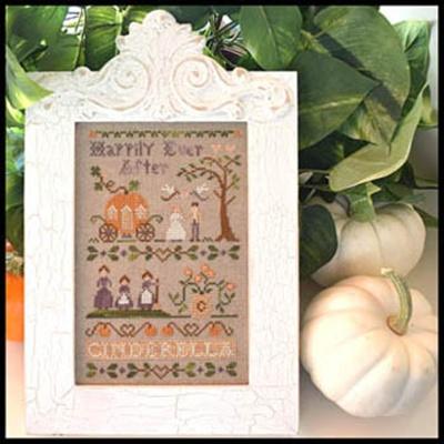 Classic Colorworks Designs - A Story Book Classic - Cinderella-Classic Colorworks,A Story Book Classic, Cinderella, fairy tales, prince, pumpkins, mice, glass slipper, Cross Stitch Pattern