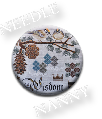 Stitch Dots - Winter's Wisdom Needle Nanny by Cottage Garden Samplings-Stitch Dots - Winters Wisdom Needle Nanny by Cottage Garden Samplings