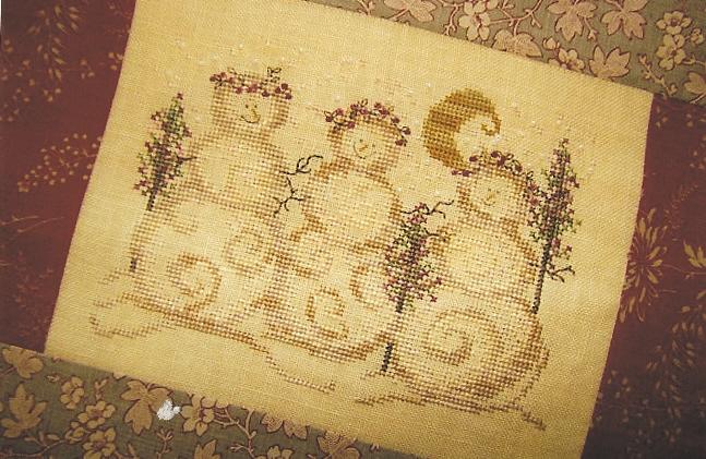Country Garden Stitchery - Snowgirls - Cross Stitch Pattern