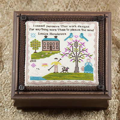 Cherished Stitches - Primrose Hill-Cherished Stitches, Primrose Hill, 2015 Nashville Release, Cross Stitch Pattern